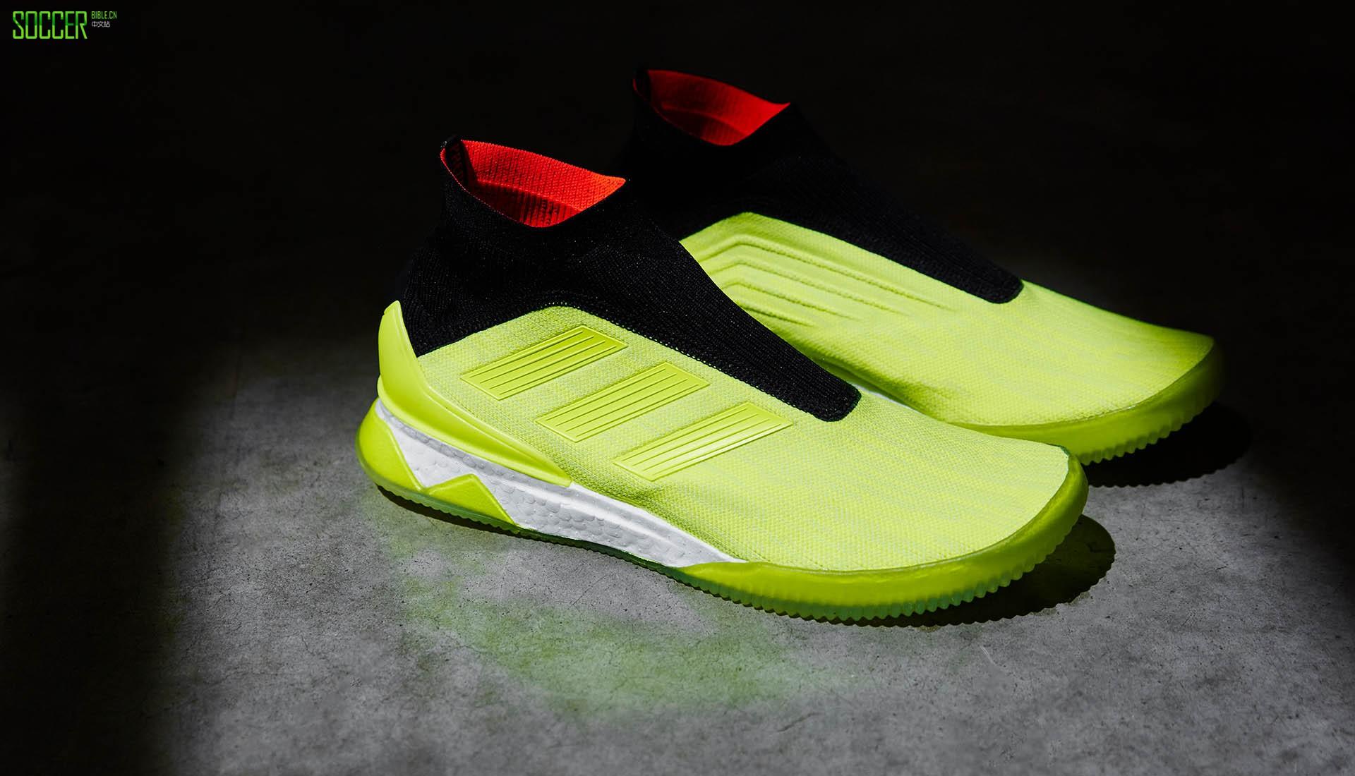 阿迪达斯发布猎鹰Tango 18+ TR休闲鞋