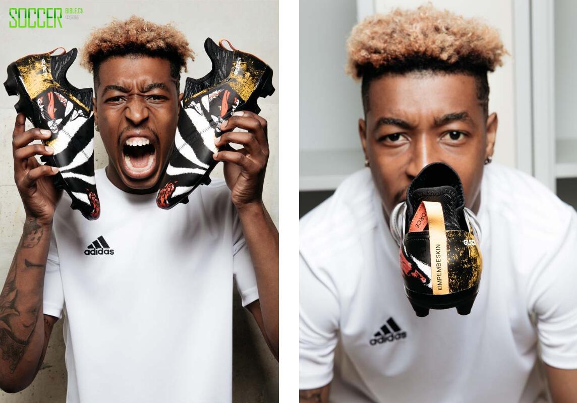 阿迪达斯为世界杯球员展示了定制的Glitch球鞋