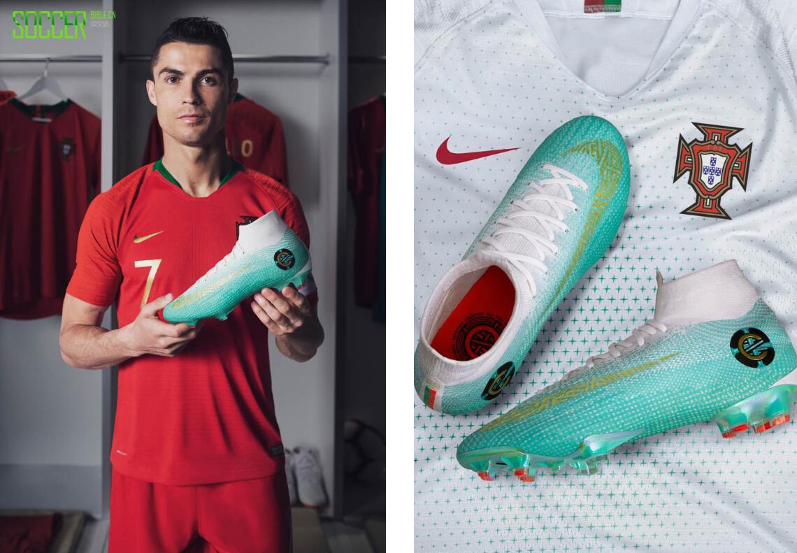 耐克推出Mercurial Superfly CR7第6章特别版专属足球鞋