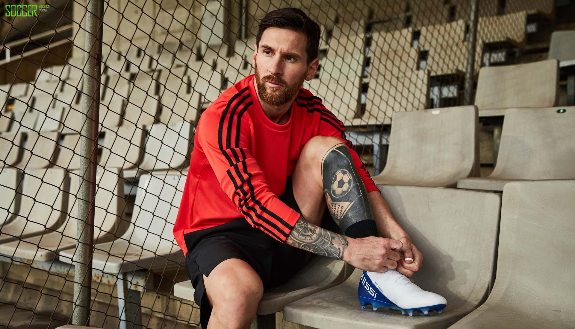"""阿迪达斯发售Nemeziz Messi 18.1""""白/黑/蓝""""配色"""