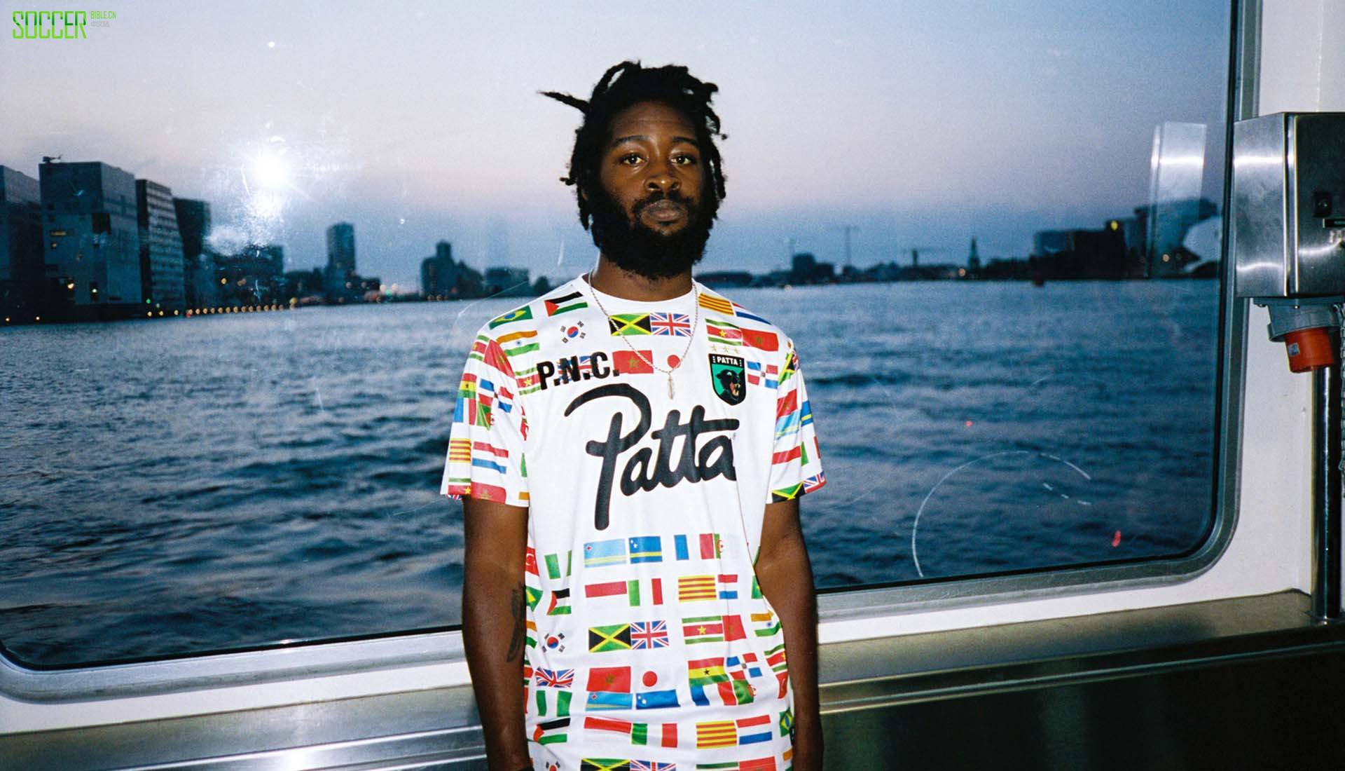 Patta发行特别版足球球衣