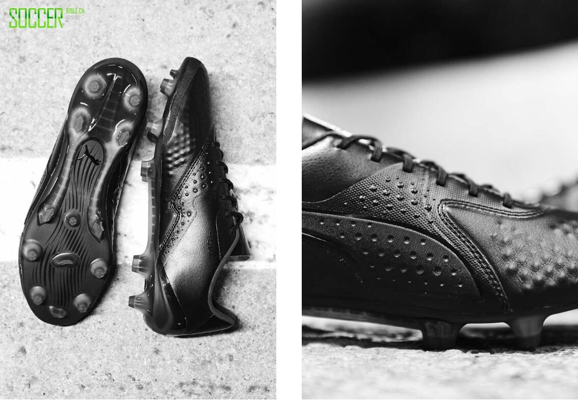 """彪马发布""""三重黑""""套装经典皮革战靴"""