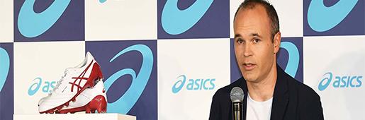 紧跟老乡步伐 伊涅斯塔签约日本品牌ASCIS