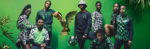 补货!耐克2018尼日利亚世界杯球衣套装