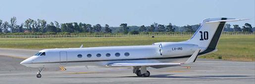 梅西花1500万美金豪购全新私人飞机