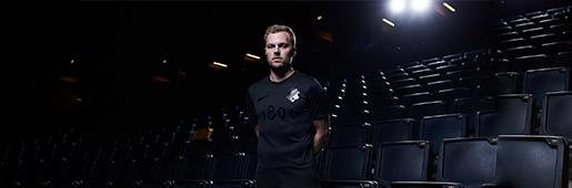 耐克发售AIK 1891黑色版本球衣