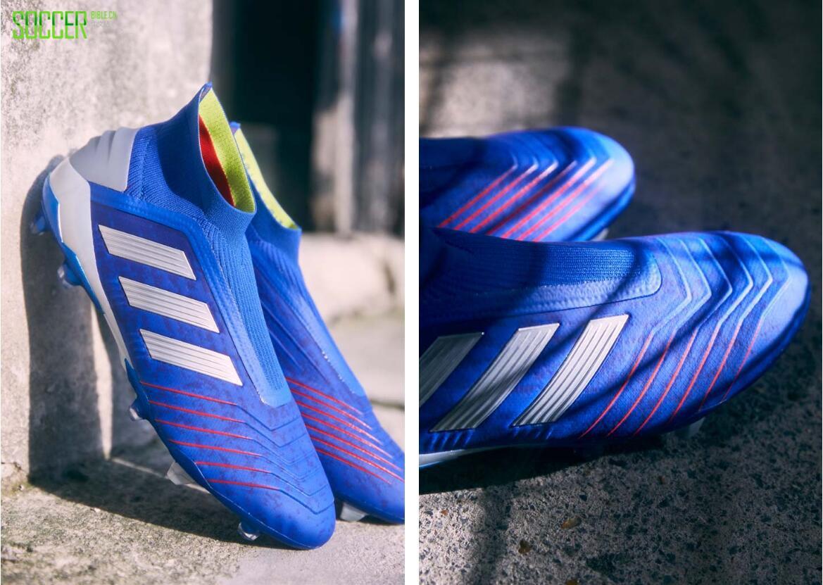 """阿迪达斯""""敢秀套装"""" 猎鹰19+足球鞋"""