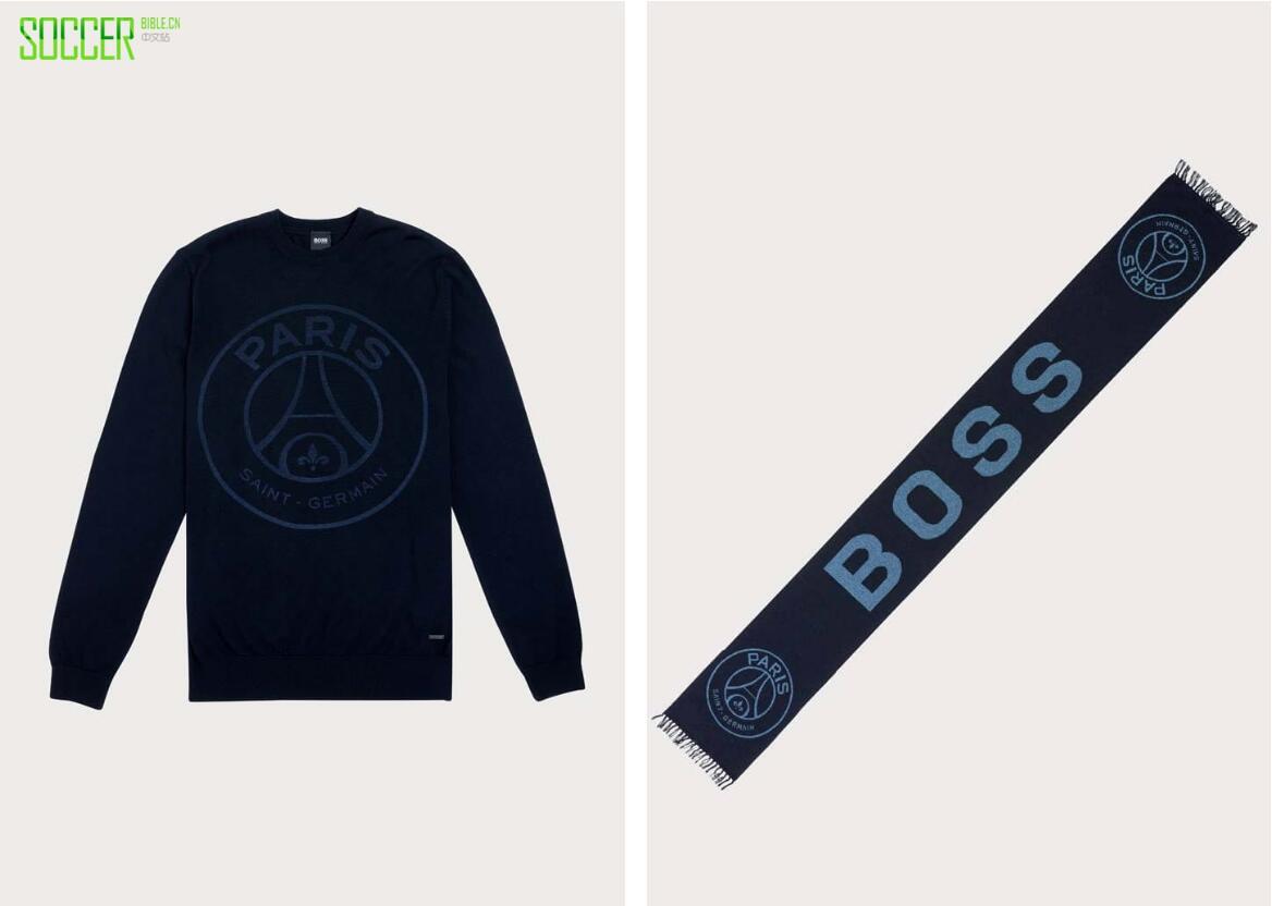 PSG x Hugo Boss推出日常休闲Capsule Collection系列服饰