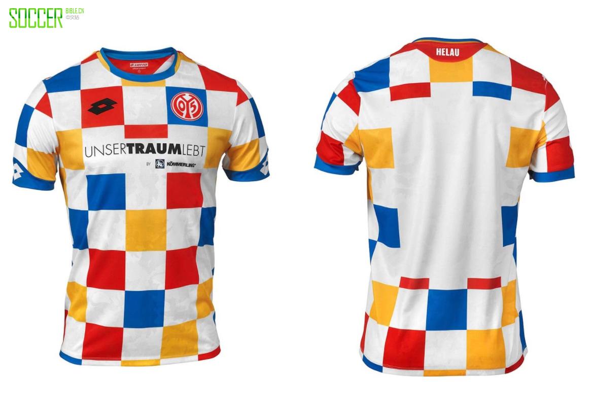 美因茨推出2019狂欢节特别球衣