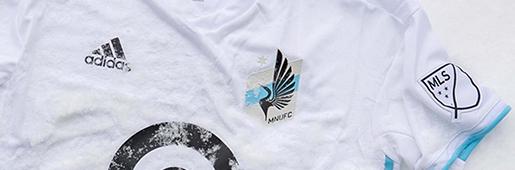 """阿迪达斯推出明尼苏达联第二球衣 """"Drift"""""""