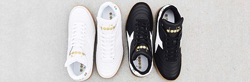 Diadora又为室内足球鞋推出两款全新配色