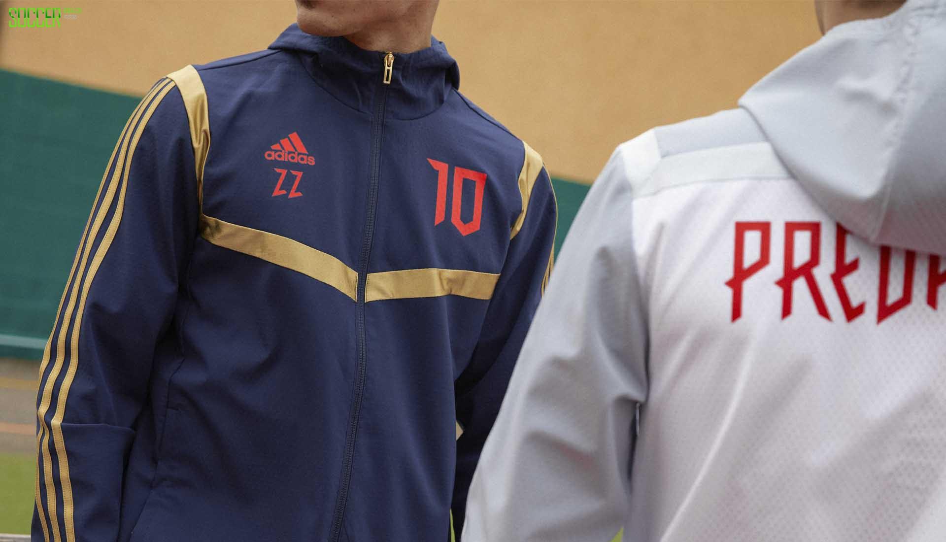 齐祖、小贝齐上阵 阿迪达斯正式发布猎鹰25周年系列套装