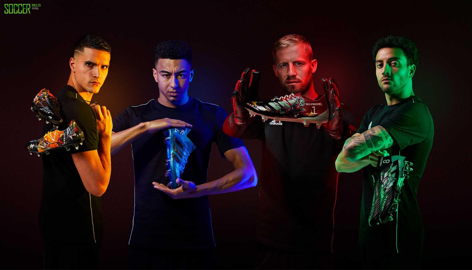 游戏照进现实 EA为英超球员发布四款Anthem定制足球鞋