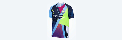 Nike × 曼彻斯特城合作六周年庆典球衣