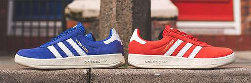 adidas Originals推出Trimm Trabs Merseyside Pack休闲鞋
