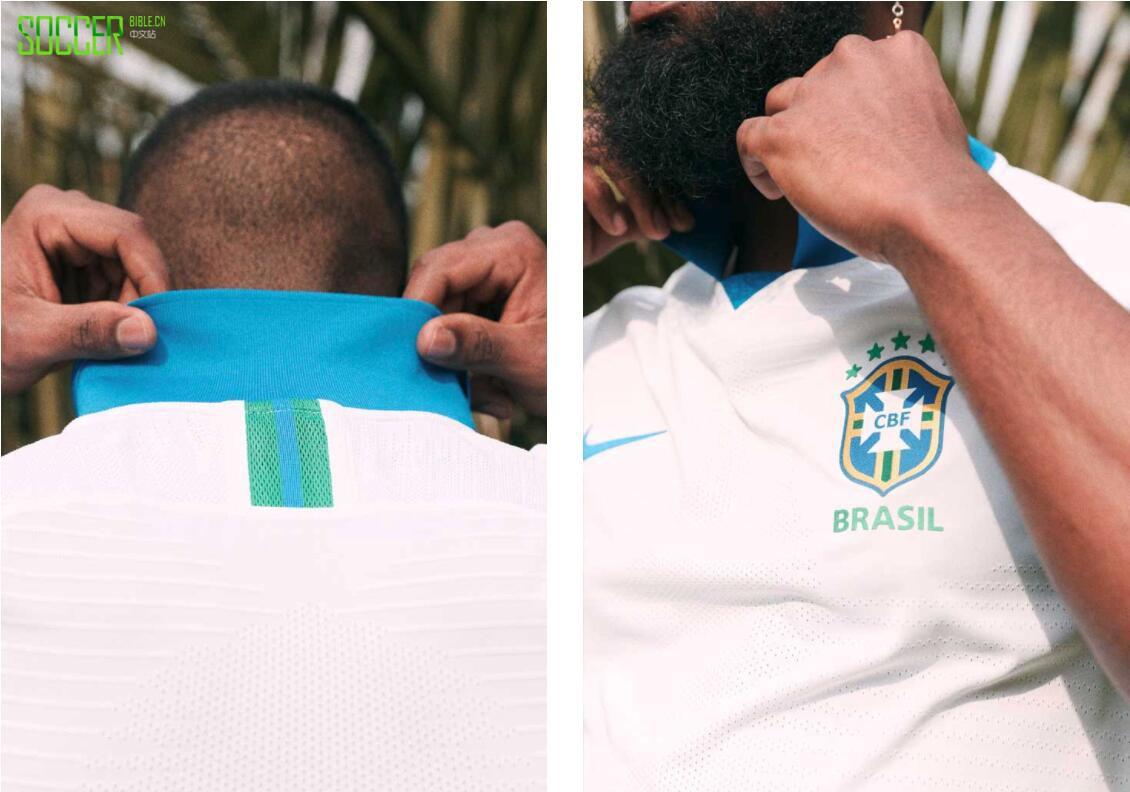 耐克发布白色巴西客场球衣