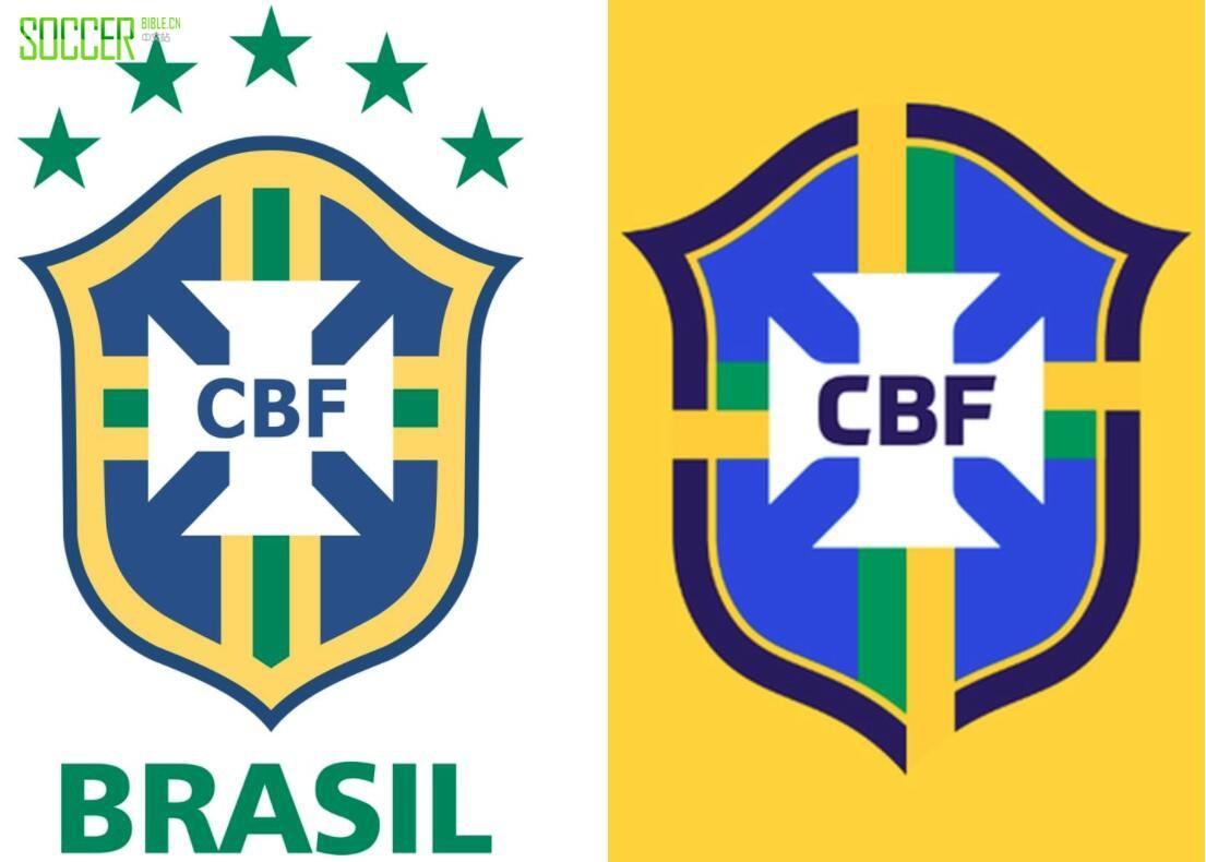 鲜亮简洁 巴西足协发布全新队徽