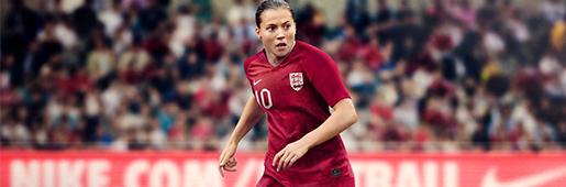耐克推出英格兰2019女足世界杯服装全系列