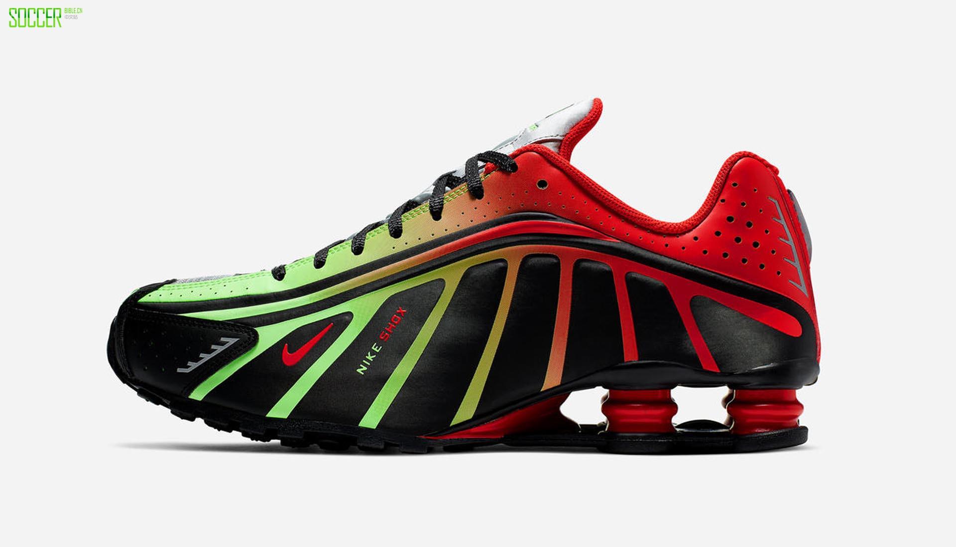 耐克宣布Shox R4内马尔运动鞋的推出日期