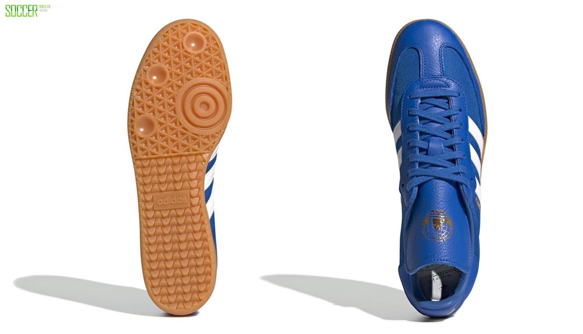 adidas Originals x Oyster Holdings发布三款Samba新配色