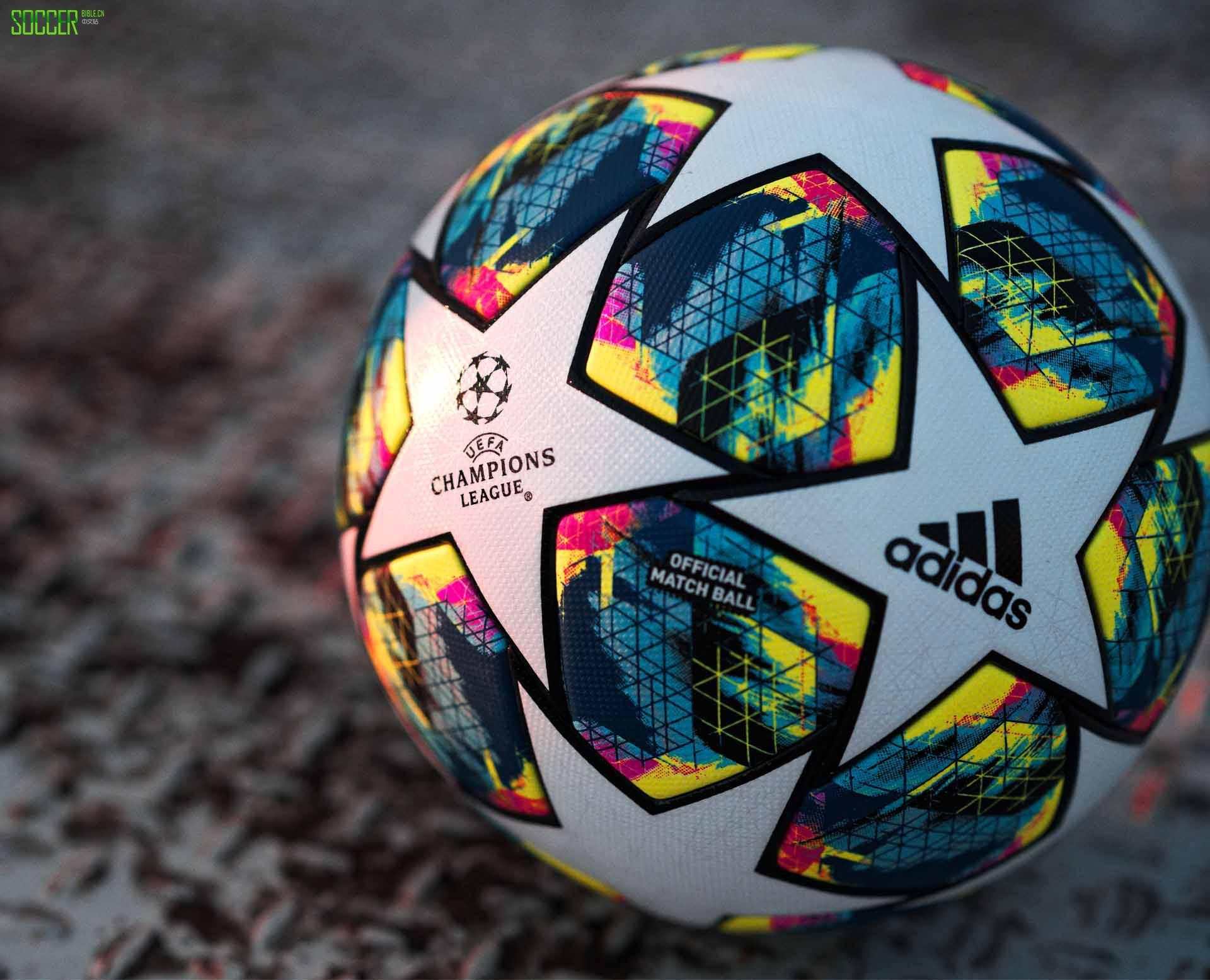 阿迪达斯发布2019/20欧冠比赛用球