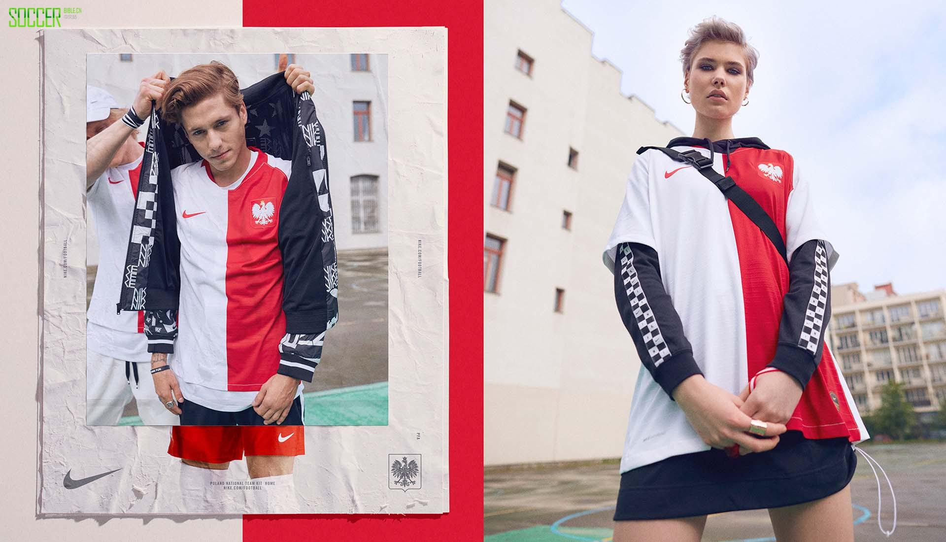 耐克发布波兰百年纪念球衣