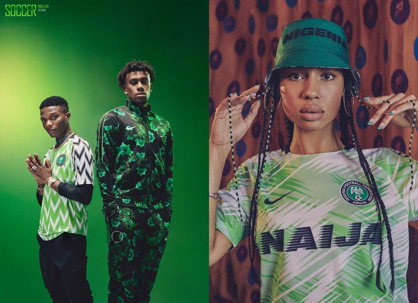 耐克为女足世界杯再次发布尼日利亚世界杯球衣