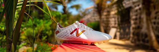 NewBalance与马内合作推出了一款限量版Furon v5 Maagum战靴