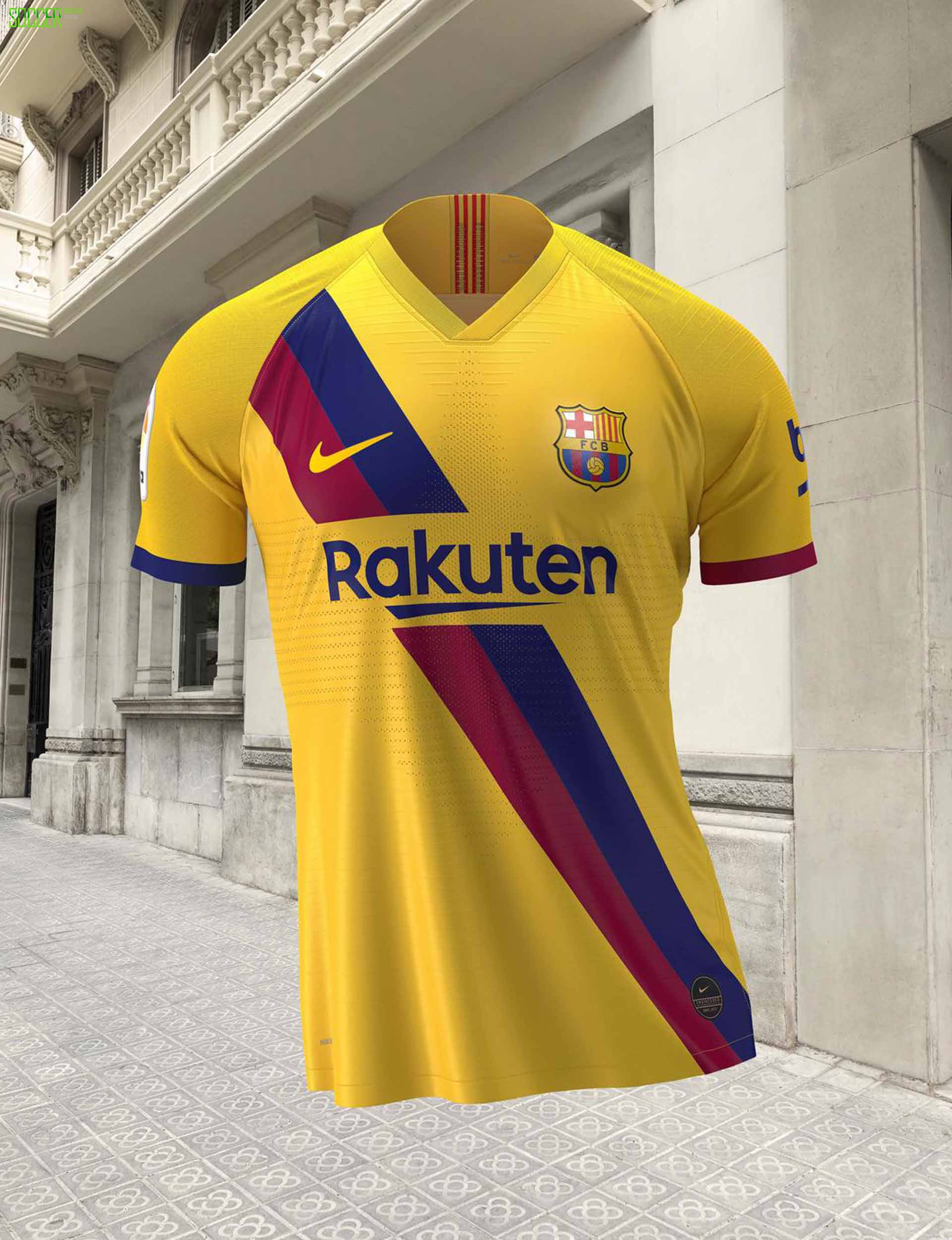 Nike推出巴塞罗那1920赛季客场球衣