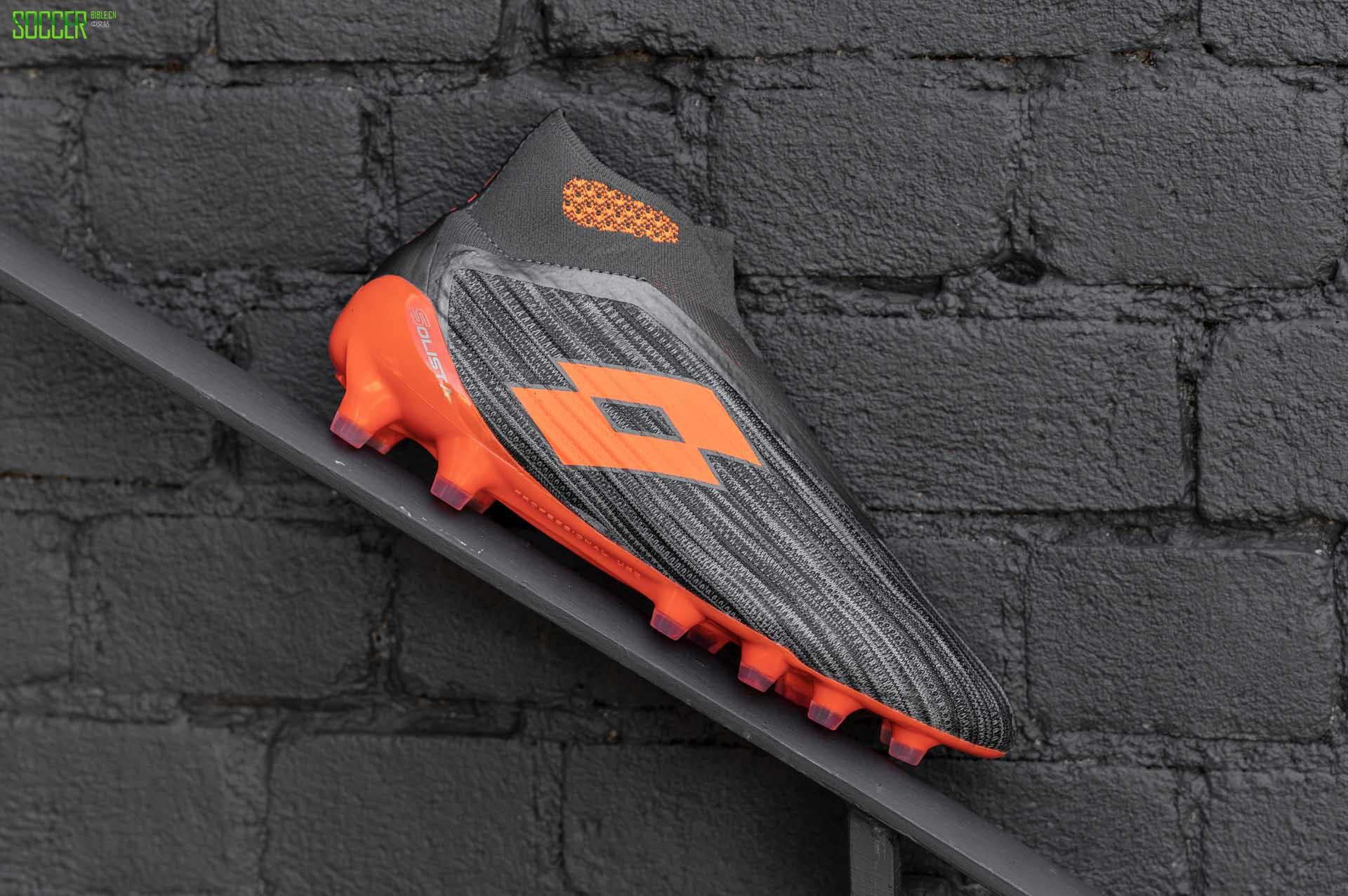 Lotto推出无鞋带Solista 100 III Gravity足球鞋