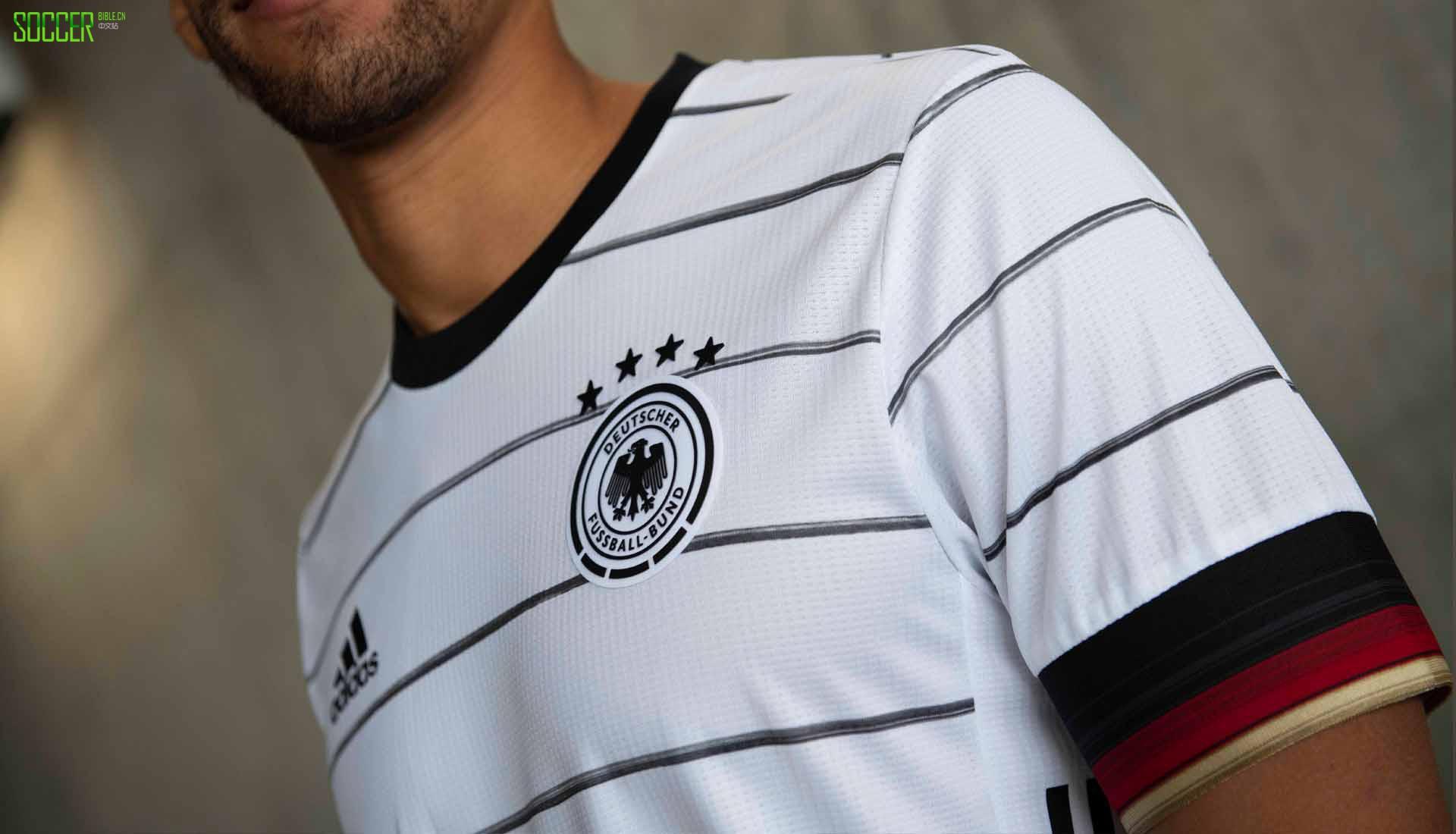 阿迪达斯发布德国队2020欧洲杯主场球衣