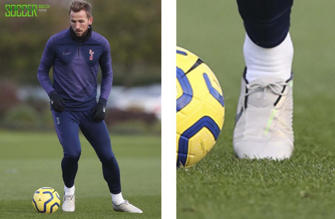 哈里・凯恩穿上未发布款配色的PhantomVNM球鞋参加训练