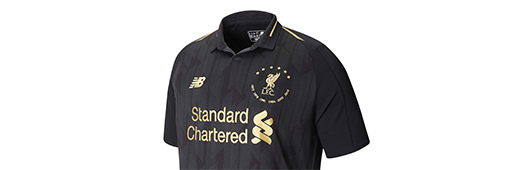 New Balance 推出利物浦六冠黑金套装