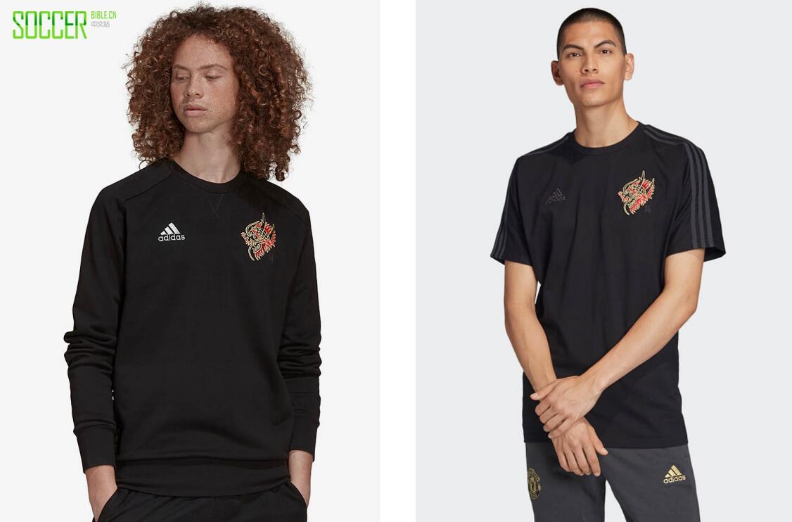 阿迪达斯推出曼联19-20农历新年球衣