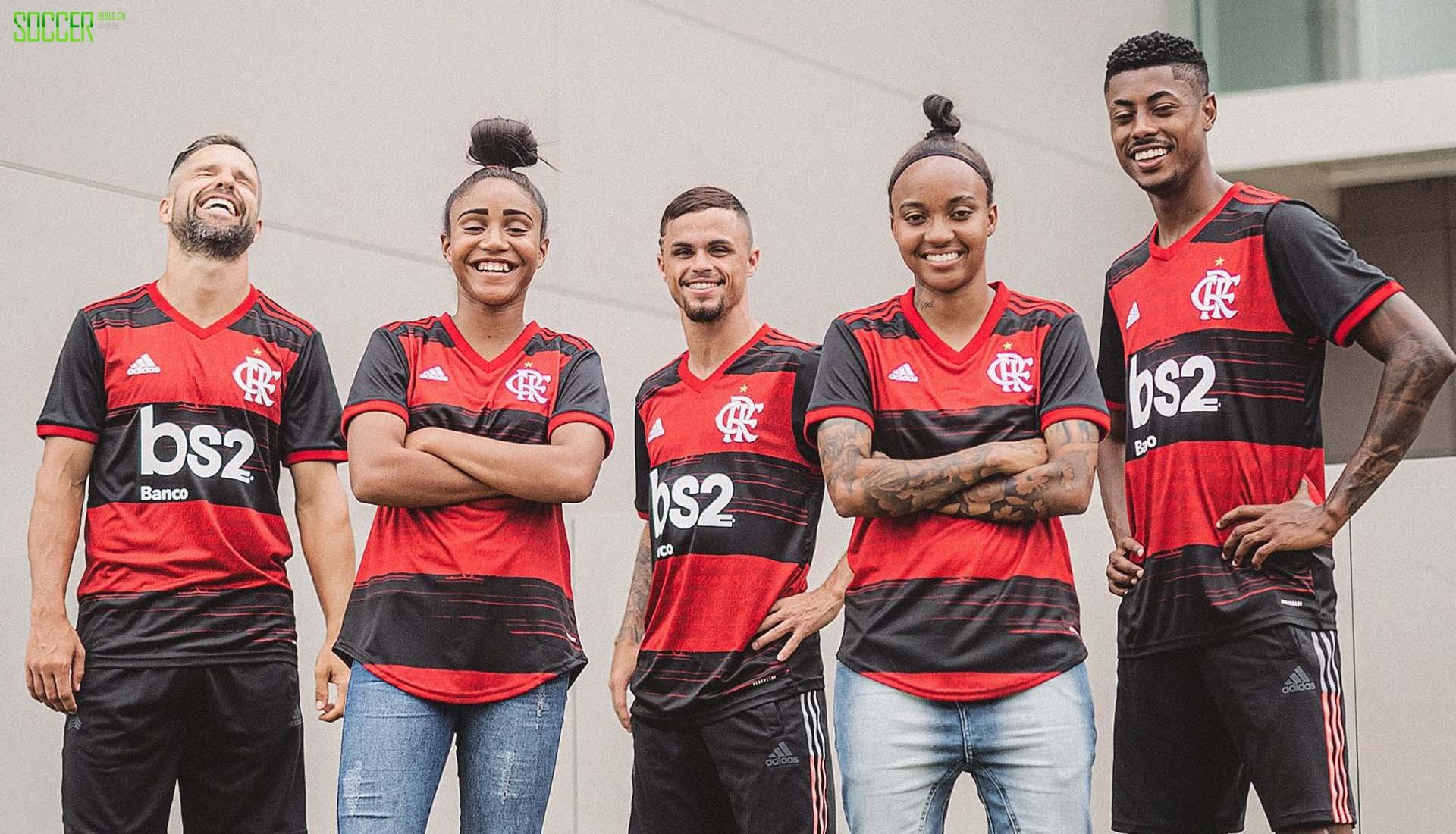 阿迪达斯推出弗拉门戈2020主场球衣