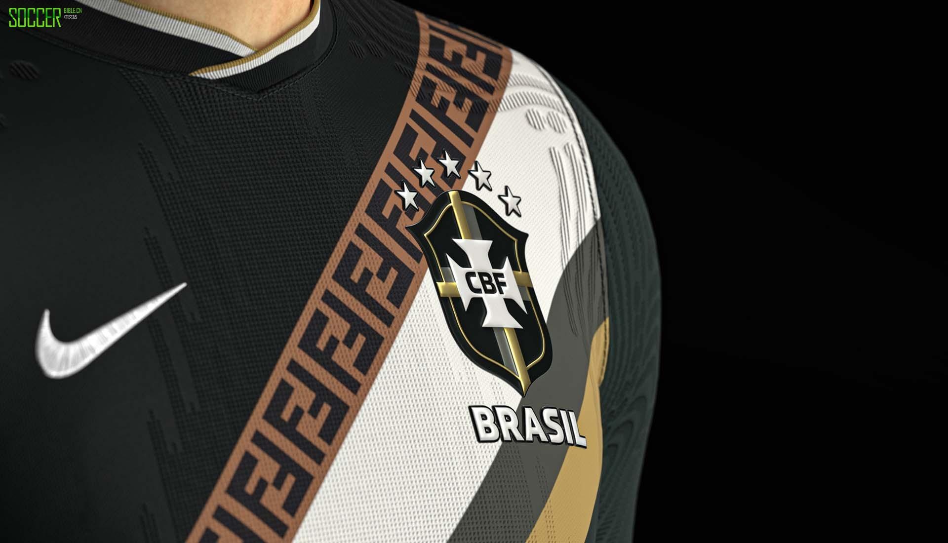 SETTPACE创作巴西国家队 x Fendi 概念球衣