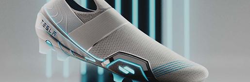 Mossawi工作室创造特斯拉概念足球鞋