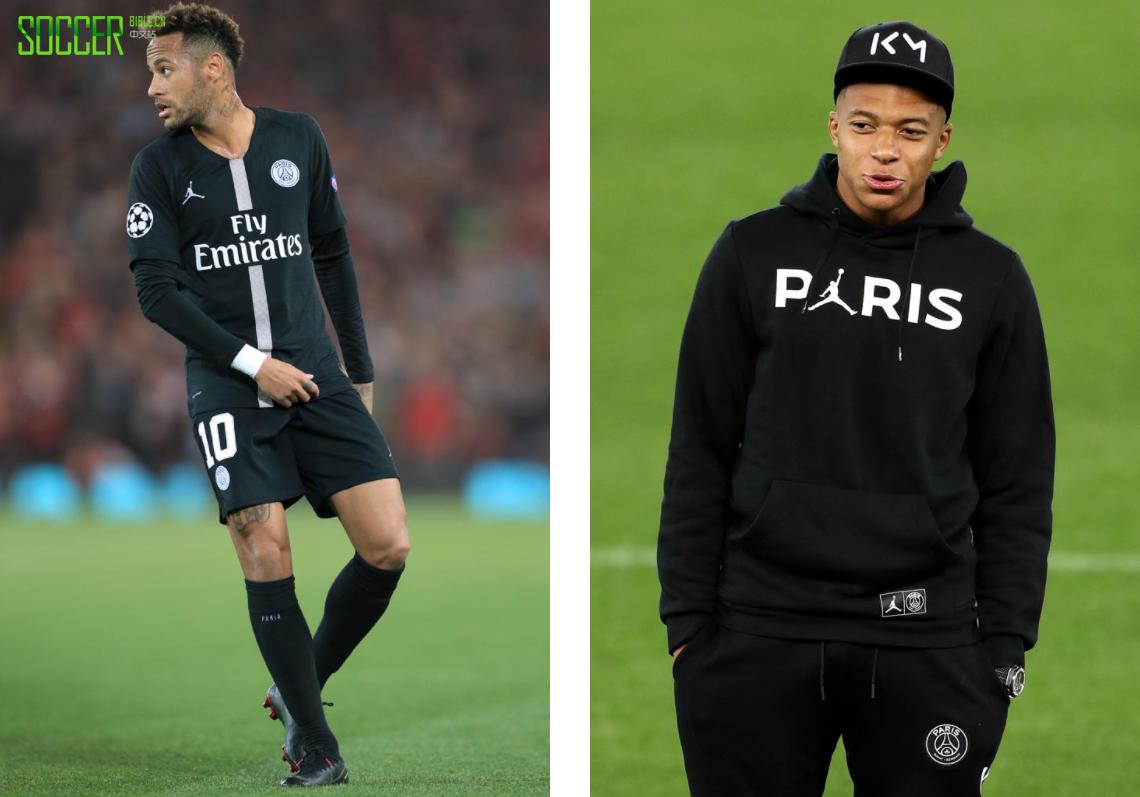 Jordan x 巴黎圣日耳曼联名球衣亮相记录