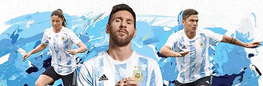 阿迪达斯发布阿根廷2021主场球衣