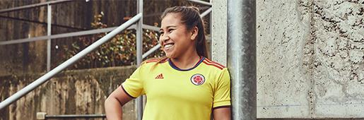 阿迪达斯发布哥伦比亚2021主场球衣