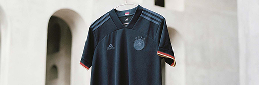 阿迪达斯发布德国2021客场球衣