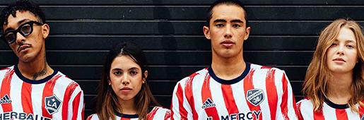 MLS和阿迪达斯发布2021Americana赛前球衣